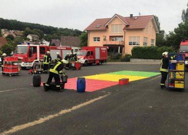 Dekon-P Übung in Bergheim
