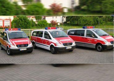 Drei MTF für die Feuerwehr der Stadt Ortenberg