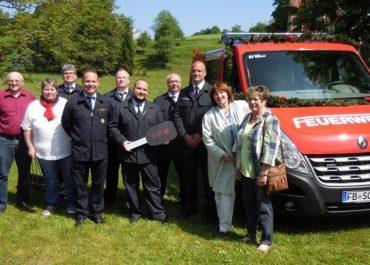 Neues MTF für die Feuerwehr Bergheim
