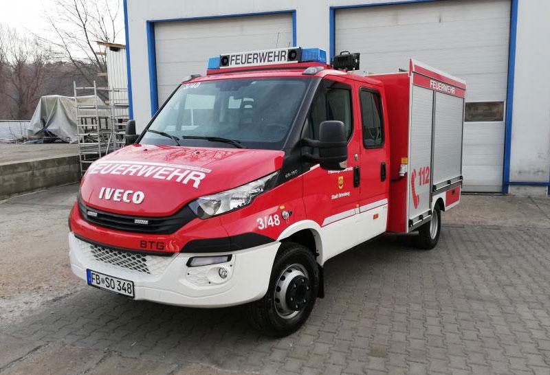 Neues TSF-W für die Feuerwehr Lissberg