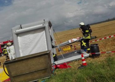 300 Katastrophenschützer üben in Echzell