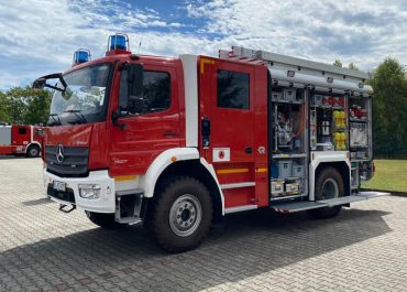 Neues LF20 für den Dekon-Zug