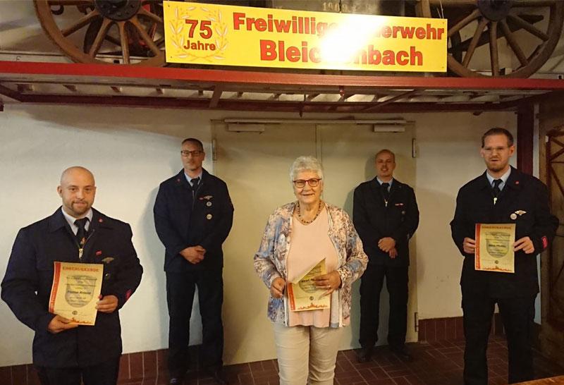 JHV der Freiwilligen Feuerwehr Bleichenbach
