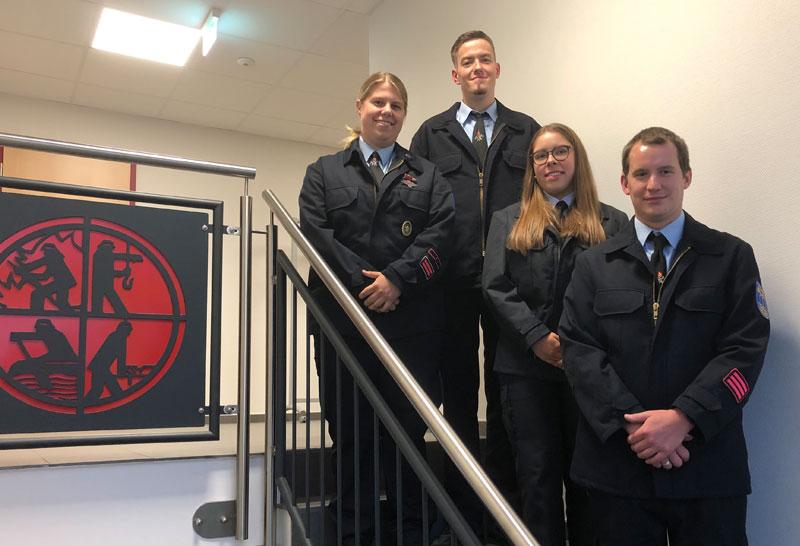 Neue Führung in der Jugendfeuerwehr der Stadt Ortenberg