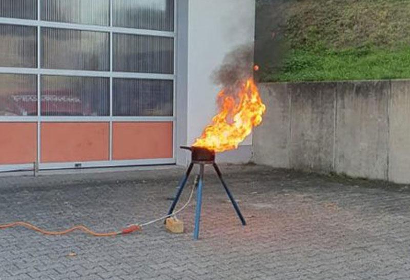 """""""Was tun, wenn es brennt?"""""""